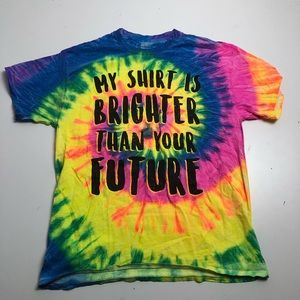 Spencer's Brighter Than Future Colourful T-shirt